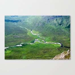 Highland Mountain Rivers Canvas Print