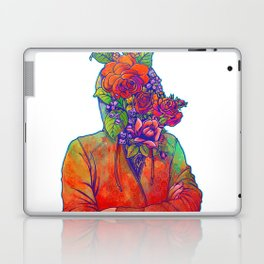 FLOWERS HEAD Laptop & iPad Skin