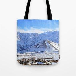 Beautiful Winter Season Landscape Tote Bag
