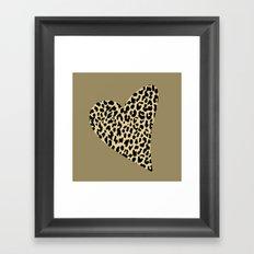 Wild Love III Framed Art Print