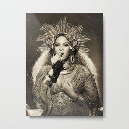 Cardi Vintage 02 Metal Print