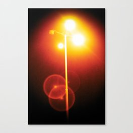 sodium vapor light Canvas Print