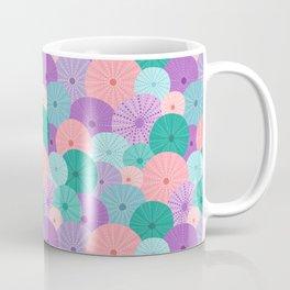 Sea Urchin in Mermaid Hues Coffee Mug