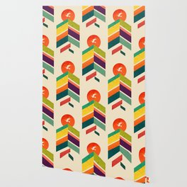 Lingering Mountains Wallpaper