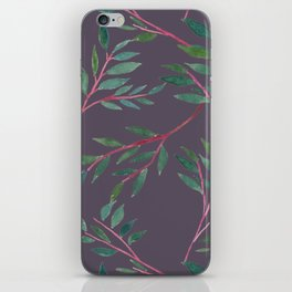 2016 Calendar Print - Red Branch iPhone Skin