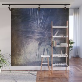 STILL LIFE WITH A PALM BRANCH. Film photography. Wall Mural