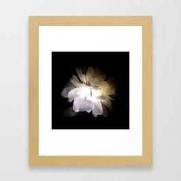 Electric Peony Framed Art Print