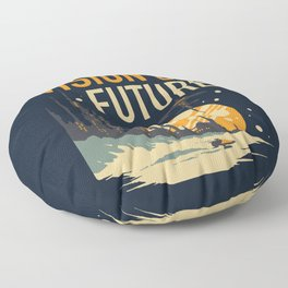 Vision of Future Floor Pillow