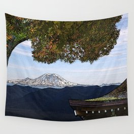 Rainer Woodblock Wall Tapestry