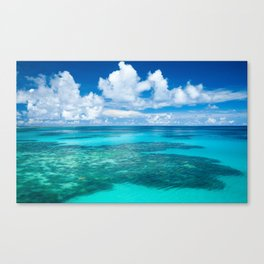 Summertime Vacation Canvas Print