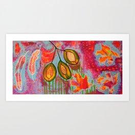 """Changing"" Original Painting by Toni Becker, Artfully Healing Art Print"