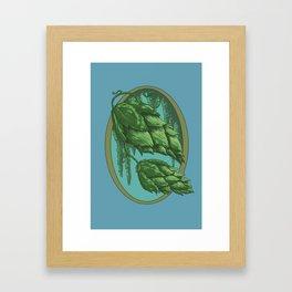 Hops! Framed Art Print