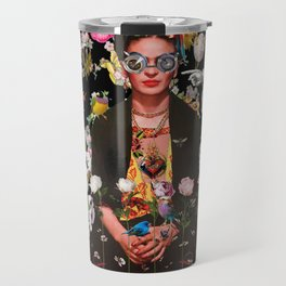 Frida OTT Kahlo You Are Too Much Travel Mug