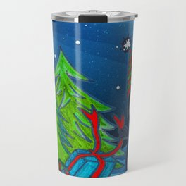 Christmas Gifts | Christmas Spirit | Kids Painting Travel Mug