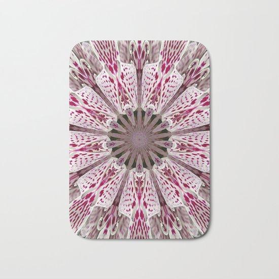 Flower from the Future? Bath Mat