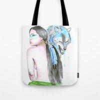indie Tote Bags featuring Indie by Tamara Kajper