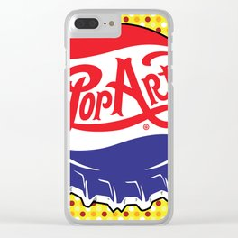 POP Art Clear iPhone Case