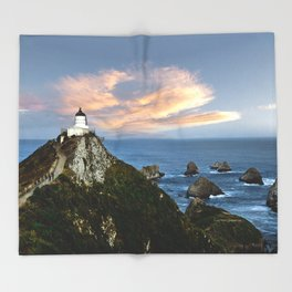 Nugget Point Throw Blanket