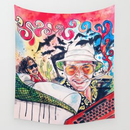 Fear and loathing Wall Tapestry