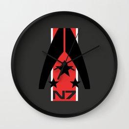 N7 MASS EFFECT Wall Clock