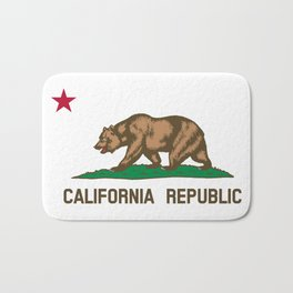 State of California Flag Bath Mat