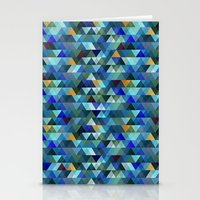 crystal Stationery Cards featuring Crystal by Marcelo Romero