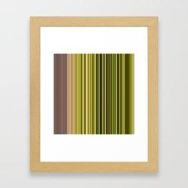 Scanline | Moss 326 Framed Art Print