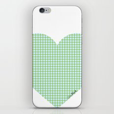 I love you this much... (blue) iPhone Skin
