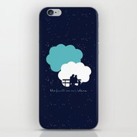 fault in our stars iPhone & iPod Skins featuring The Fault In Our Stars by laurenschroer