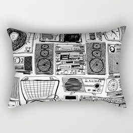 Music Boxes Rectangular Pillow