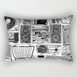 Music Boxes Rectangular Pillow