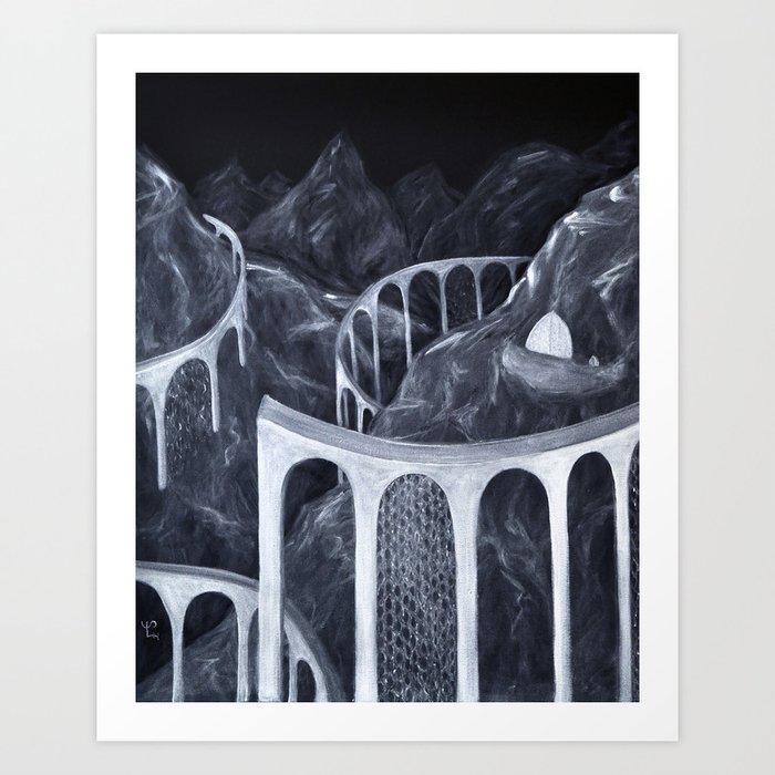 Dragon City #3 Art Print