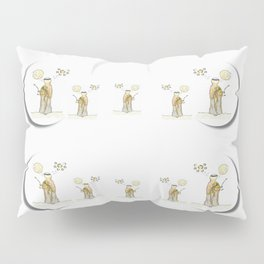 angels under the  sun and peace doves Pillow Sham