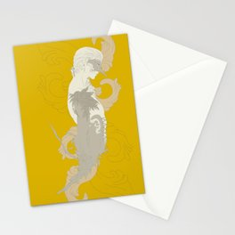 dream in yellow Stationery Cards