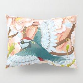 The seasons | Spring birds Pillow Sham