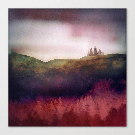 Scarlet Light Canvas Print