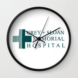 Grey Sloan Memorial Hospital Wall Clock