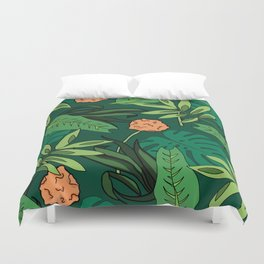 Deep In The Jungle... Duvet Cover