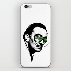 Dalì, what are you watching? iPhone & iPod Skin
