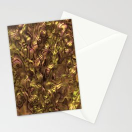 Abalone Shell | Paua Shell | Orange Tint Stationery Cards