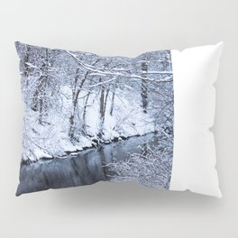 Snow and water Pillow Sham