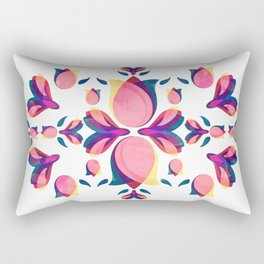 Tulip Pattern Rectangular Pillow