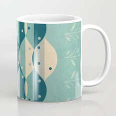 50's floral pattern IV Mug
