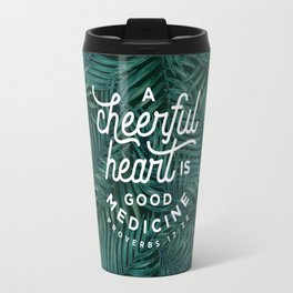 A Cheerful Heart Travel Mug