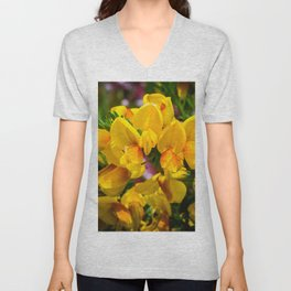 Scotch Broom Unisex V-Neck
