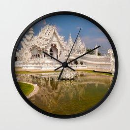 Wat Rong Khun Temple Wall Clock