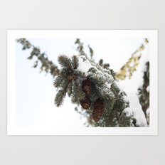 Blizzard of 2014 Art Print