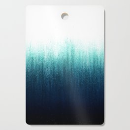 Teal Ombré Cutting Board