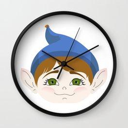 Cuty pie Piximoji Wall Clock