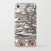 cherry iPhone & iPod Cases featuring Cherry by Iris V.